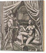 Chastity Belt Wood Print
