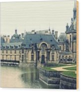 Chateau Chantilly Wood Print