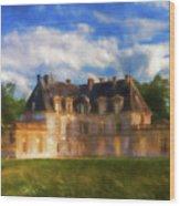 Chateau D'acquigny  Wood Print