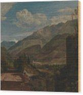 Chateau De St Michael  Wood Print