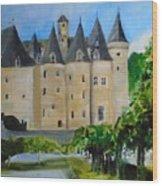 Chateau Jumilhac, France Wood Print
