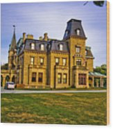 Chateau-sur-mer Wood Print