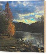 Chattahoochee Fall Wood Print