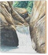 Chau-ram Wood Print by Lane Owen