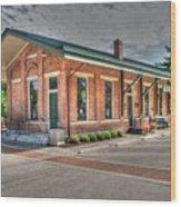 Glendale,ohio Train Depot Wood Print