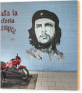 Che Bike  Wood Print