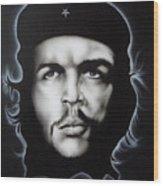 Che Guevara Wood Print by Stephen Sookoo