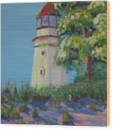 Cheboygan Lighthouse Wood Print