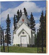 Chechow Holy Spirit Church 1  Wood Print