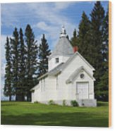Chechow Holy Spirit Church 2  Wood Print