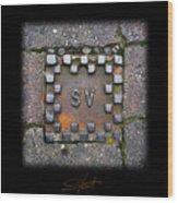 Checker Sv Wood Print