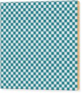 Checkerboard Wood Print