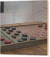 Checkered Past - Checkers Wood Print