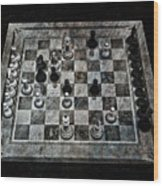 Checkmate In One Move Wood Print