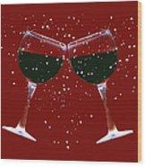 Cheers Wood Print