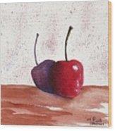 Cheery Cherry Wood Print