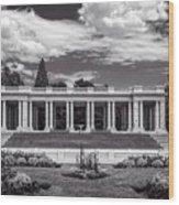 Cheesman Park Denver Wood Print