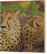 Cheetah 2 Wood Print
