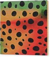 Cheetah Animal Print 5 Mug Wood Print