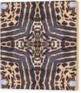 Cheetah Cross Wood Print