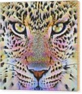 Cheetah Vi Wood Print