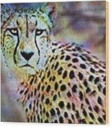 Cheetah Viii Wood Print