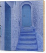 Chefchaouen Morocco Wood Print