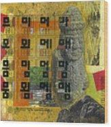 Cheju Grandfather Wood Print