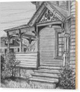 Chenango Street Binghamton Ny Wood Print