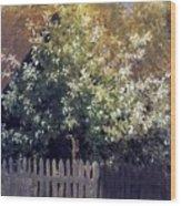 Cheremukha Beginning 1880 Isaac Ilyich Levitan Wood Print