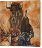Cherokee Mist Wood Print