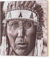 Cherokee Wood Print