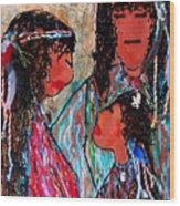 Cherokee Trail Of Tears Brave Family Wood Print