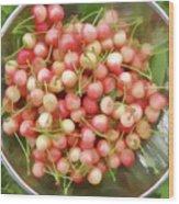 Cherries 8 Wood Print