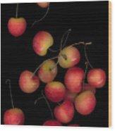 Cherries Multiplied Wood Print