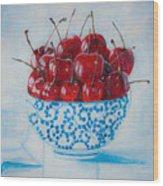 Cherrismatic Bowl Wood Print
