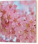 Cherry Blossom Pastel Wood Print