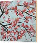 Cherry Blossoms V 201631 Wood Print