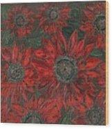 Cherry Brandy Wood Print