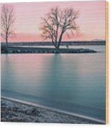 Cherry Creek Sunrise Wood Print