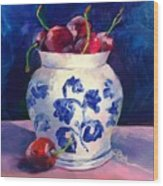 Cherry Delights Wood Print