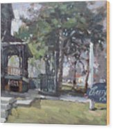 Cherry Hill Pub Wood Print