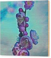 Cherry Stems Wood Print