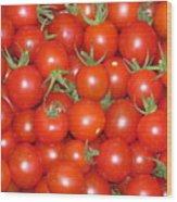 Cherry Tomato Harvest Wood Print