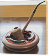 Cherrywood Freehand Pipe Wood Print