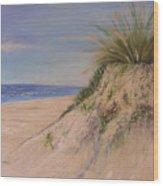 Chesapeake Bay Dune Wood Print