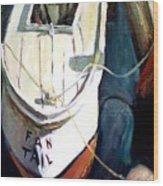 Chesapeake Boat Wood Print