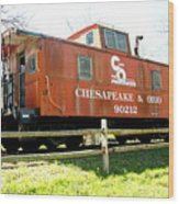 Chesapeake -ohio Rr Wood Print