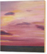 Chesapeake Skyscape Wood Print