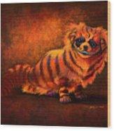 Cheshire Canine Wood Print